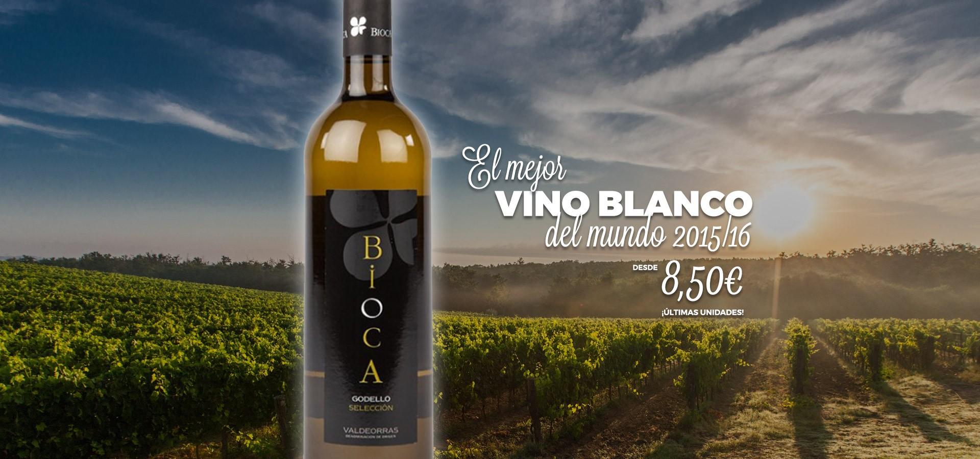 Bioca Godello - El mejor vino blanco del mundo